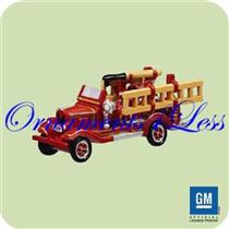 2004 Miniature Fire Brigade #1 - 1929 Chevrolet Fire Engine - QXM5164