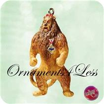 2003 The Cowardly Lion - Wizard of Oz Miniature Ornament - QXM4219