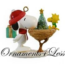 Hallmark Miniature Series Ornament 2009 Winter Fun With Snoopy #12 - #QXM9002