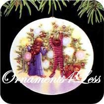 1987 Collector's Plate #1 - Light Shines at Christmas - SDB