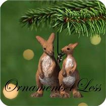 2001 Bouncy Kangaroos - Miniature Ornament - QXM5332 - SDB