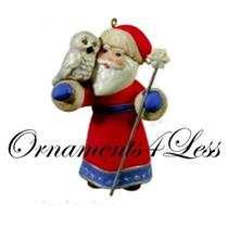 Hallmark Series Ornament - 2011 A Visit From Santa #3 - #QX8809-SDB