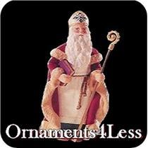 1995 Christmas Visitors #1 - St. Nicholas - QX5087 - SDB