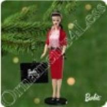 2001 Nostalgic Barbie #8 - Busy Gal Fashion - QX6965