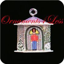 1992 Friendly Tin Soldier - Miniature Ornament - DB