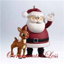 Hallmark Keepsake Ornament 2012 Won't You Guide My Sleigh - Rudolph #QXI2991-SDB