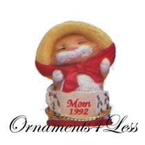 1992 Mom - Miniature Ornament - QXM5504 - SDB WITH NO TAG