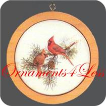 1982 Holiday Wildlife Series #1 - Cardinalis, Cardinalis - SDB