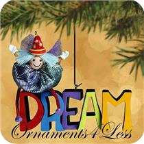 2002 Paintbox Pixies #1 - Dream - Set of 2 Miniature Ornaments - QXM4543 - DB