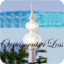 2011 Pierced Finial Tree Topper - QXG3619