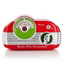 2013 Tabletop North Pole Countdown With MP3 Player - Magic - QXG1035 - SDB