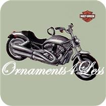 Hallmark Miniature Series Ornament 2008 Harley #10 - 2002 VRSCA V-Rod - #QXM2034