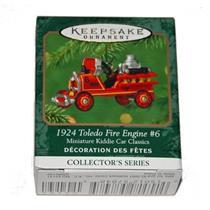2001 Miniature Kiddie Car Classics #7 - 1924 Toledo Fire Engine #6 - QXM5192