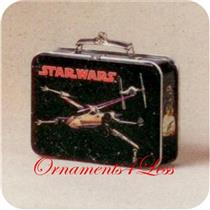 1998 Star Wars X Wing Starfighter Lunchbox - QEO8406
