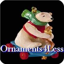 1999 Roll A Bear - Miniature Ornament