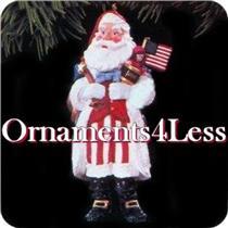1996 Merry Olde Santa #7 - QX5654 - DB