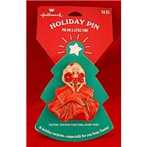 1995  Holiday Barbie Lapel Pin - XLP3547
