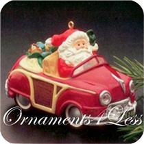 1987 Here Comes Santa #9 - Santa's Woody - QX4847 - SDB