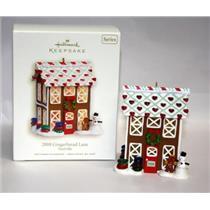 Hallmark Series Ornament 2008 Noelville #3 - 2008 Gingerbread Lane - #QX7154-SDB