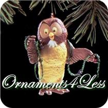 1992 Owl - Winnie the Pooh - QX5614 - DB WITH NO TAG