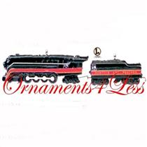 1999 Norfolk & Western #1 - Lionel Locomotive and Tender - Set of 2 Miniature Lionel Trains - QXM454