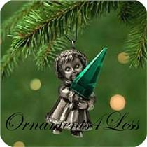 2001 Radiant Christmas - Miniature Ornament - QXM5342 - SDB