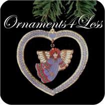 1982 Cloisonne Angel - QX1454 - SDB