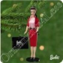 2001 Nostalgic Barbie #8 - Busy Gal Fashion - QX6965 - DB