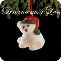 1991 N Pole Buddy - Miniature Ornament - DB