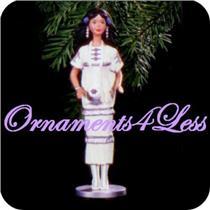 1996 Dolls of the World #1 - Native American Barbie - QX5561 - SDB