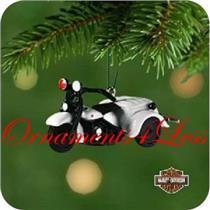 2001 Miniature Harley Davidson #3 - 1947 Servi Car - QXM5282