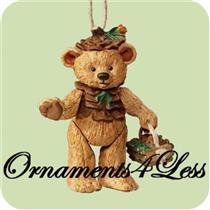 2004 Gift Bearers #6 - Porcelain Bear - QX8401 - SDB
