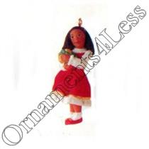 1996 A Childs Gifts - Miniature Ornament - QXM4234 - SDB WITH STICKER ON THE BOX