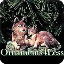 1998 Majestic Wilderness #2 - Timber Wolves at Play - QX6273