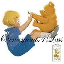 1999 Winnie the Pooh and Christopher Robin #1 - Playing with Pooh - QXD4197 - SDB