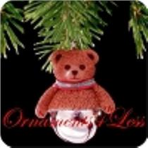 1998 Christmas Bells #4 - Teddy Bear - QXM4196