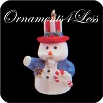 1992 Cool Uncle Sam - Miniature Ornament - QXM5561 - SDB