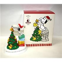 2012 Christmas is Best When it is Decorated with Good Friends - Peanuts Figurine - XKT1051 - SDB