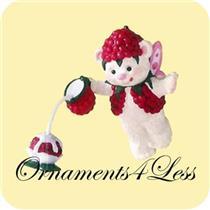 2001 Fairy Berry Bears #3 - Raspberry - QEO8565