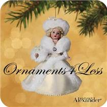 2002 Madame Alexander #7 - Winter Wonderland - QX8086 - NO MEMORY CARD