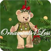 2000 Gift Bearers #2 - Porcelain Bear - QX6651