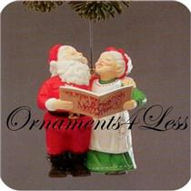 1989 Mr and Mrs Claus #4 - Holiday Duet - NO BOX