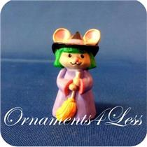 1993 Mouse Dressed as Witch - Merry Miniature