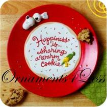 2011 Happiness is...Cookie Plate - Peanuts Gang - XKT2003