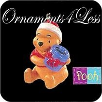 1997 Honey of a Gift - Winnie the Pooh Miniature Ornament - QXD4255