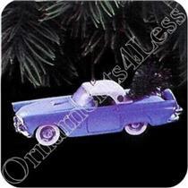 1993 Classic American Cars #3 - 1956 Ford Thunderbird - QX5275 - WRITING ON BOX