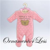 2012 Baby Girl's First Christmas - QXG4634