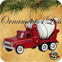 Hallmark Keepsake Ornament 2002 Tonka 1961 Cement Truck - #QX8233