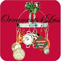 2002 Christmas In The Kitchen - QX8956 - NO MEMORY CARD