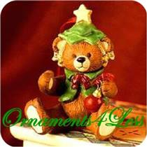 1999 Gift Bearers #1 - Porcelain Bear - QX6437